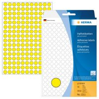 Herma 2211 öntapadó jelölő címke