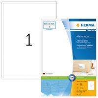 Herma 4252 fehér színű öntapadós etikett címke