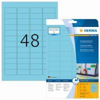 Herma 4368 kék színű öntapadós etikett címke