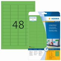 Herma 4369 zöld színű öntapadós etikett címke