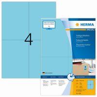 Herma 4398 kék színű öntapadós etikett címke