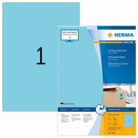 Herma 4403 kék színű öntapadós etikett címke