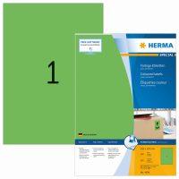 Herma 4404 zöld színű öntapadós etikett címke