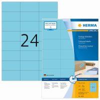 Herma 4408 kék színű öntapadós etikett címke