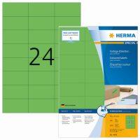 Herma 4409 zöld színű öntapadós etikett címke