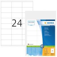 Herma 4414 fehér színű öntapadós etikett címke