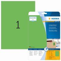 Herma 4424 zöld színű öntapadós etikett címke