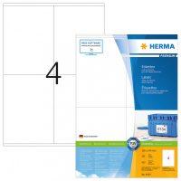 Herma 4454 fehér színű öntapadós etikett címke