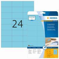 Herma 4468 kék színű öntapadós etikett címke
