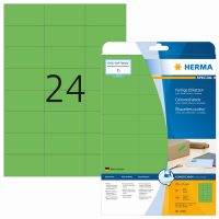 Herma 4469 zöld színű öntapadós etikett címke