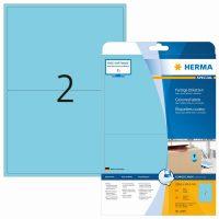 Herma 4498 kék színű öntapadós etikett címke