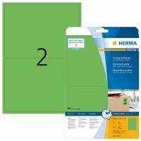 Herma 4499 zöld színű öntapadós etikett címke
