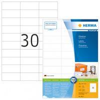 Herma 4612 fehér színű öntapadós etikett címke