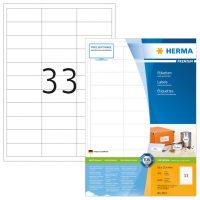 Herma 4613 fehér színű öntapadós etikett címke