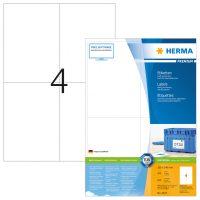 Herma 4627 fehér színű öntapadós etikett címke