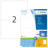 Herma 4628 fehér színű öntapadós etikett címke