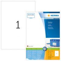 Herma 4631 fehér színű öntapadós etikett címke