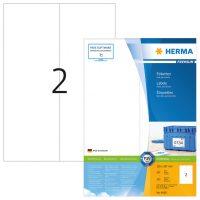 Herma 4658 fehér színű öntapadós etikett címke