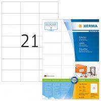 Herma 4668 fehér színű öntapadós etikett címke