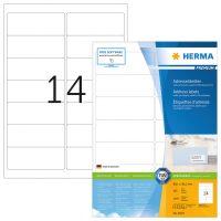 Herma 4678 fehér színű öntapadós etikett címke