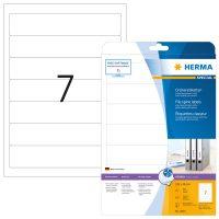 Herma 4825 iratrendező címke