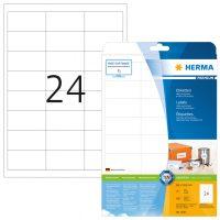 Herma 5053 fehér színű öntapadós etikett címke