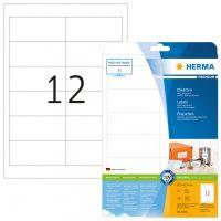 Herma 5056 fehér színű öntapadós etikett címke