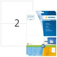 Herma 5064 fehér színű öntapadós etikett címke