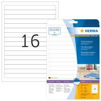Herma 5118 iratrendező címke