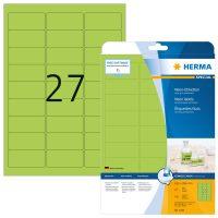Herma 5143 neon zöld színű öntapadó etikett címke