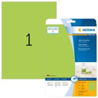 Herma 5151 neon zöld színű öntapadó etikett címke