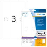 Herma 5167 függőmappa címke