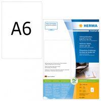 Herma 8689 fehér színű öntapadós etikett címke