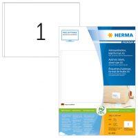 Herma 8690 fehér színű öntapadós etikett címke