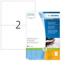 Herma 8691 fehér színű öntapadós etikett címke