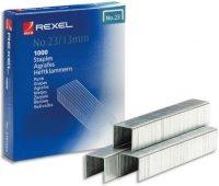 Rexel No. 23, Type 23/13 tűzőkapocs - kiszerelés: 1000 darab tűzőkapocs / doboz (Rexel 2101053)
