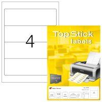 TopStick 8722 öntapadós etikett címke