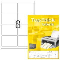 TopStick 8758 öntapadós etikett címke