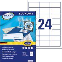 europe100 ELA008 öntapadó etikett címke