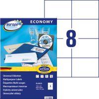 europe100 ELA023 öntapadó etikett címke