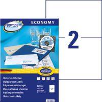 europe100 ELA026 öntapadó etikett címke
