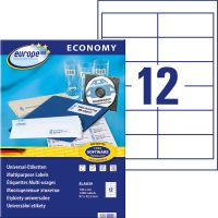 europe100 ELA039 öntapadó etikett címke